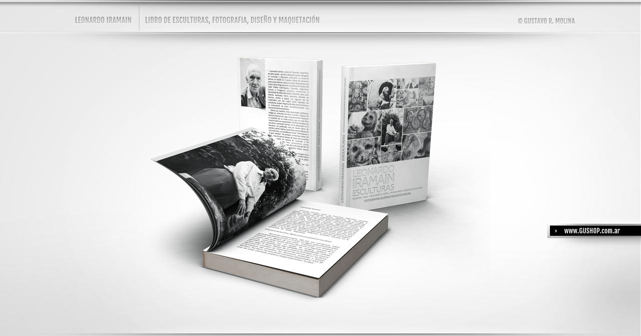 Libro Escultura Iramain Gus Molina Fotografia