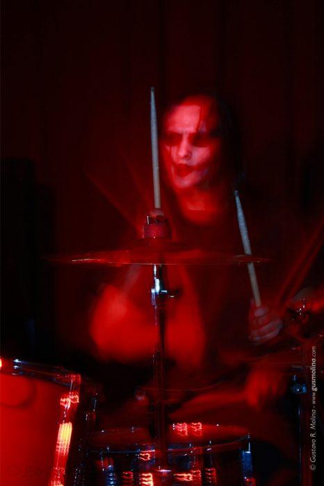 fotografias de recitales Gus Molina make me sick