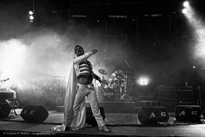 queen dios salve a la reina fotografias de recitales Gus Molina